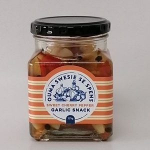 Garlic Sweet Cherry Peppers