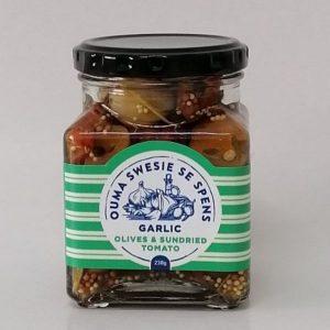 Garlic/Olives & Sundried Tomatoes