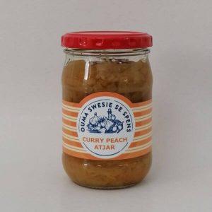 Curry Peach Atjar - Limited Edition